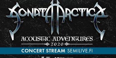 Sonata Arctica - Acoustic Adventures 2020 at semilive.fi