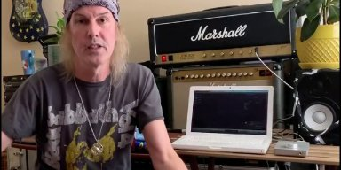 DIO Guitarist ROWAN ROBERTSON Teaches You How To Play 'Lock Up The Wolves' Title Track (Video)