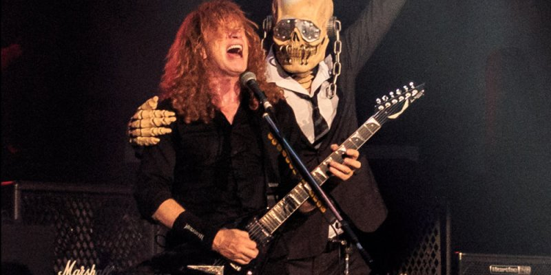 MEGADETH Refuses To Record New Album Remotely