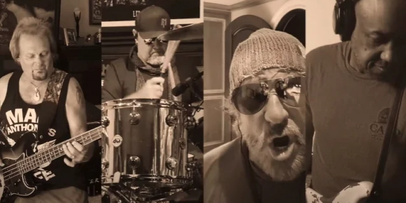 SAMMY HAGAR & THE CIRCLE Cover LITTLE RICHARD's 'Keep A-Knockin'' As Part Of 'Lockdown Sessions'