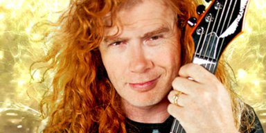 DAVE MUSTAINE Is 'Sure' He Will Be Inducted Into ROCK HALL!