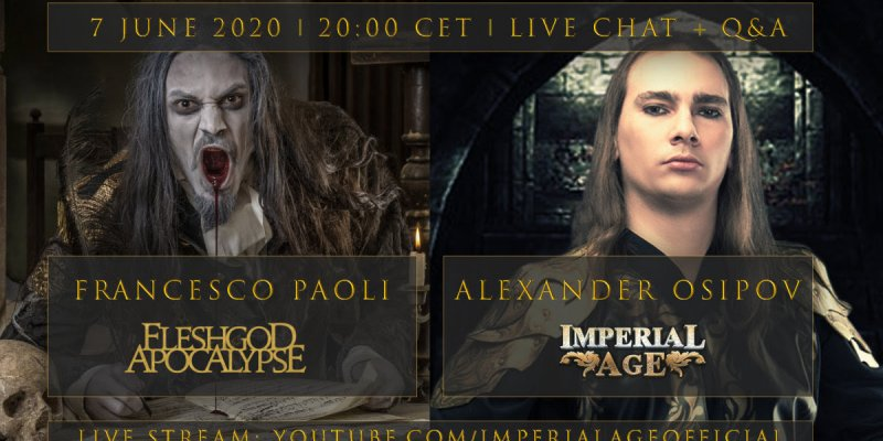 IMPERIAL AGE announce two more live chats