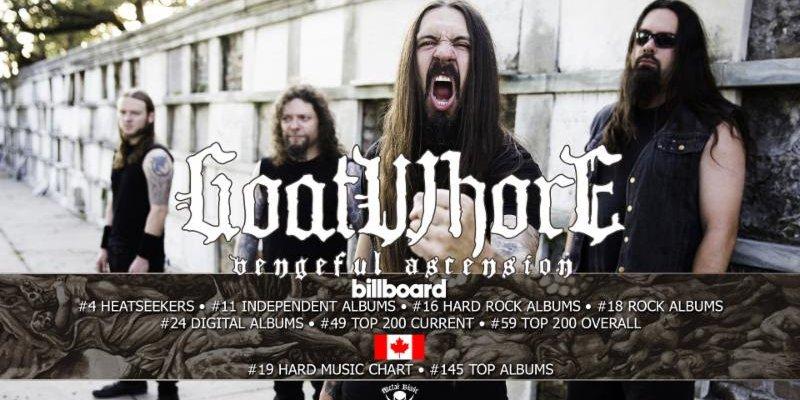 GOATWHORE Crushes Billboard Charts!