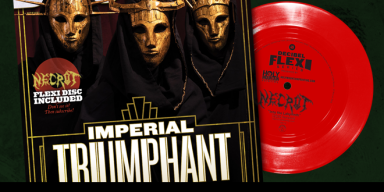 Imperial Triumphant Grace the Cover, Necrot Dominate the Flexi: It's Decibel's August Issue