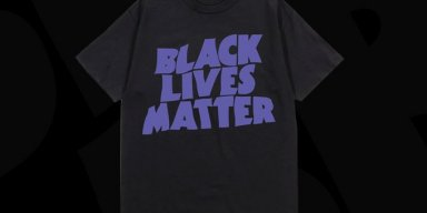 Black Sabbath selling Black Lives Matter shirts donating all proceeds to the movement