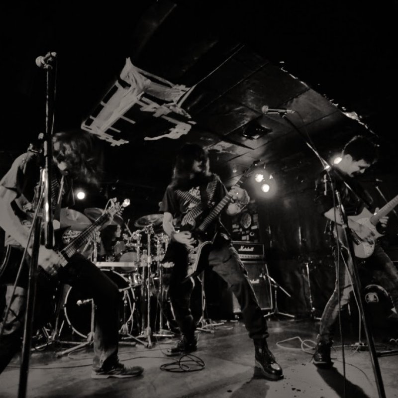 Evil are a four-piece black/speed metal band from Japan!
