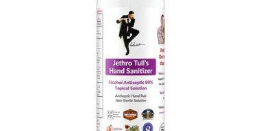 Jethro Tull Hand Sanitizer