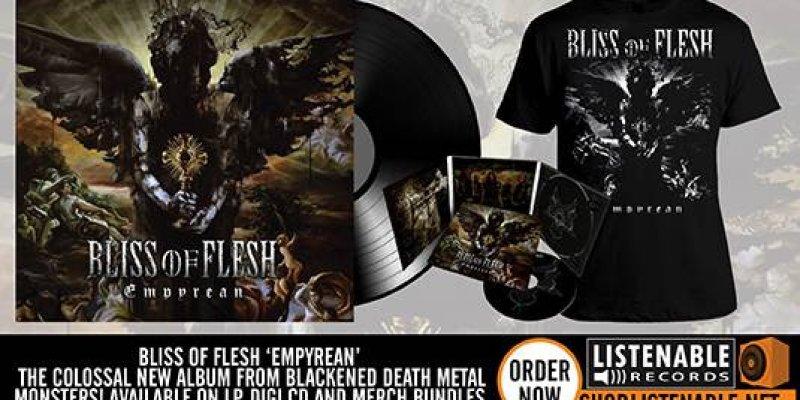 BLISS OF FLESH UNVEIL NEW ALBUM COVER ARTWORK!