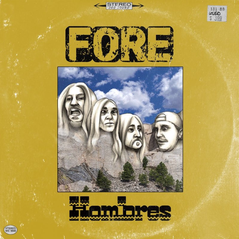 "Punk band FORE Release Debut Album ""Hombres"""