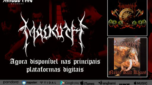 """Nekro Kult Khaos"" and ""Strongest"" from MALKUTH are now available for streaming, check it out!"