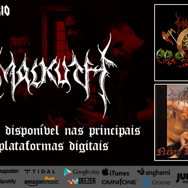 """""""Nekro Kult Khaos"""" and """"Strongest"""" from MALKUTH are now available for streaming, check it out!"""