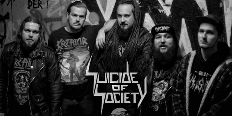 """SUICIDE OF SOCIETY to release """"War Investment"""" October 9th!"""