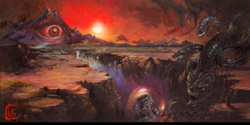 Tchornobog: heavy meditation in a desert landscape