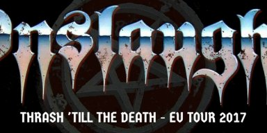 THRASH 'TILL THE DEATH EU TOUR 23 SEPT- 14 OCT