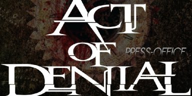 Supergroup ACT OF DENIAL Issue Studio Update, Second Single 'Controlled', Ft. By Special Guest DEATH's Bobby Koelble, Out Sep. 20!