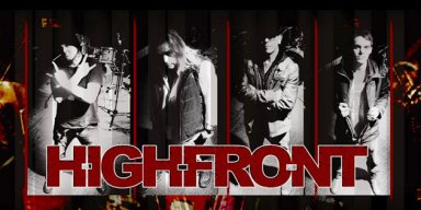 HIGHFRONT - Psychotic Bliss - Streaming At ROCK RAGE RADIO!