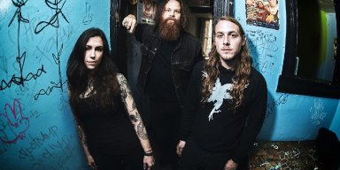 "YATRA: BrooklynVegan Premieres ""Tyrant Throne"" From Maryland Doom Metal Trio; All Is Lost Album Nears Early October Release Through Grimoire Records"
