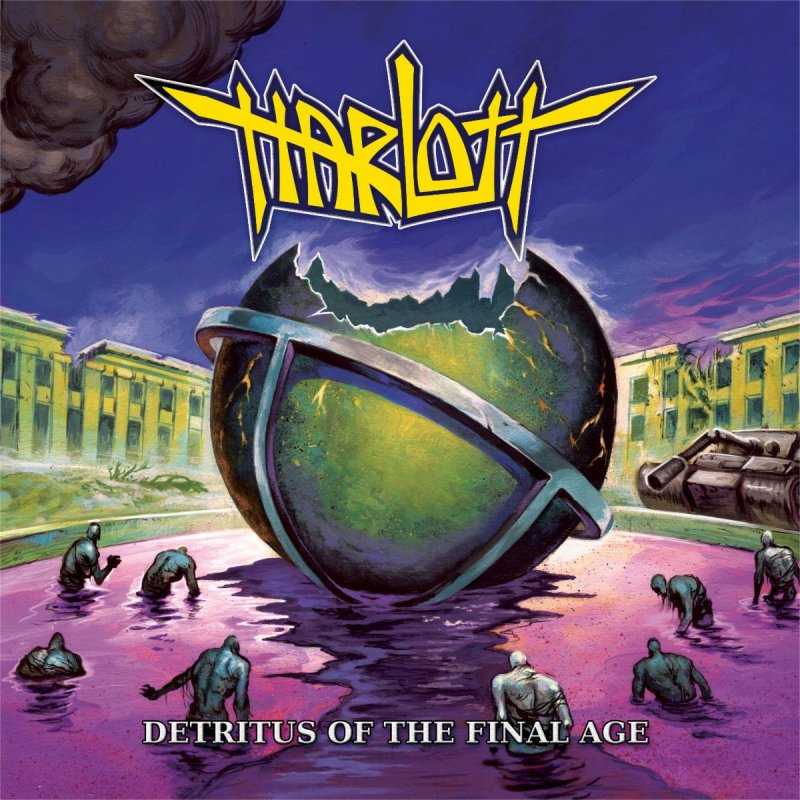 "Harlott reveals details for new album, 'Detritus of the Final Age'; launches new single, ""As We Breach"""