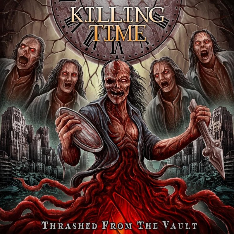 Killing Time - Thrashed From The Vault - Compilation - Featured In Bathory'Zine