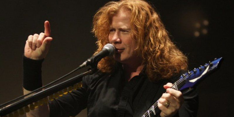 Dave Mustaine, Megadeth Had The First Official Band Website On The Net
