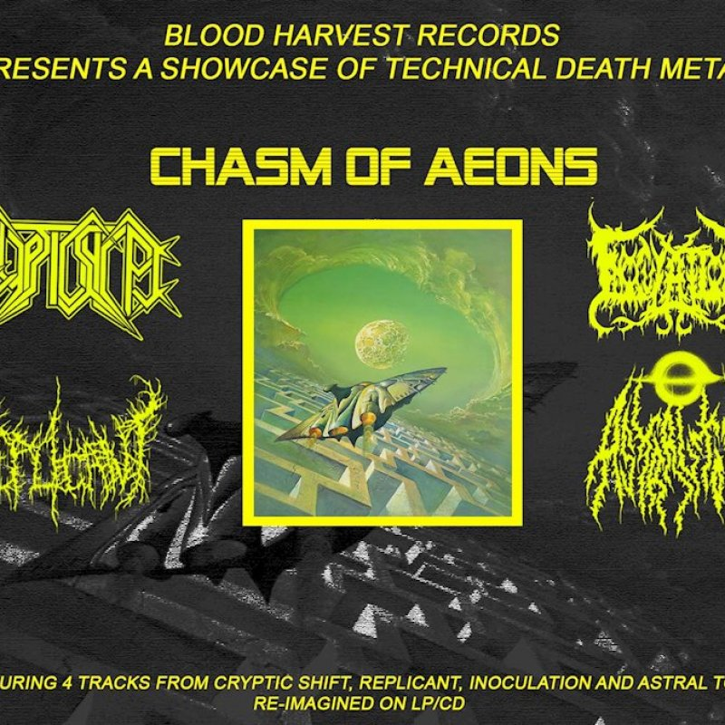 CRYPTIC SHIFT / REPLICANT / INOCULATION / ASTRAL TOMB: new promo materials from BLOOD HARVEST