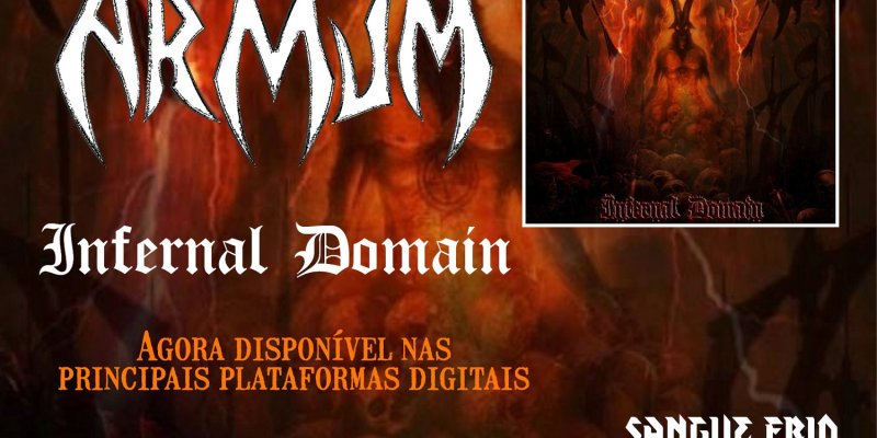 "Armum: ""Infernal Domain"" is now available on major digital platforms, check it out!"