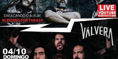 VÁLVERA convida os fãs para Live Autoral no Manifesto Bar junto com a banda Andralls!