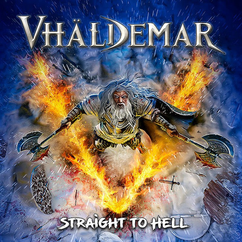 VHÄLDEMAR - Straight to Hell - (Traditional Heavy Metal) Reviewed By Dutch Metal Maniac