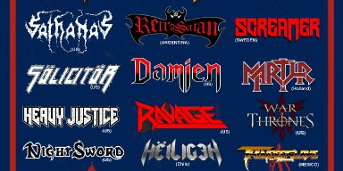 """CORNERS OF SANCTUARY: To Be Featured On The Bill Of The Old School Metal Festival, """"Return Of The Old Cult"""" On November 6th"""