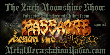 Venom Inc. - Massacre - Interview - The Zach Moonshine Show