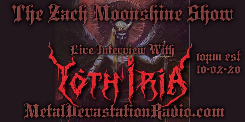 Yoth Iria - Live Interview - The Zach Moonshine Show