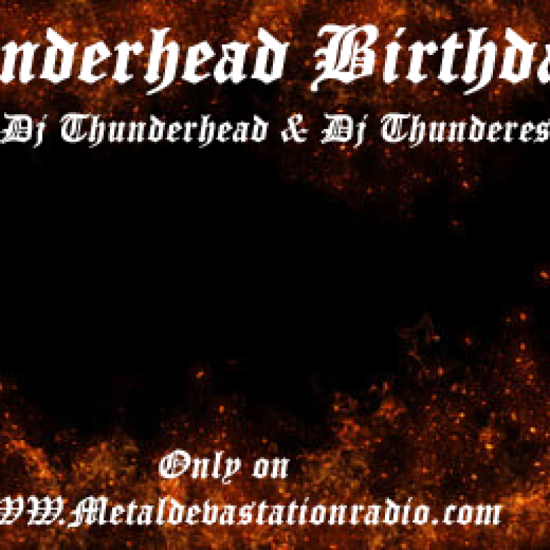 Thunderheads Birthday Bash Show Today 5pm est