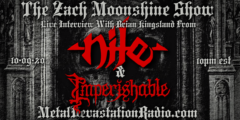 Nile - Imperishable - Live Interview - The Zach Moonshine Show