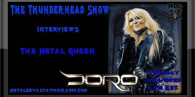 Thunderhead Show Interviews The Metal Queen Doro Pesch