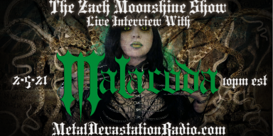 Malacoda - Live Interview - The Zach Moonshine Show