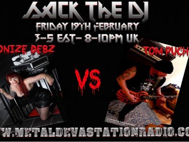 Sack the DJ with Demonize Debz & Tom Puch from Holland 3-5EST/8-10PM UK
