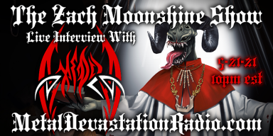 Axedra - Live Interview - The Zach Moonshine Show