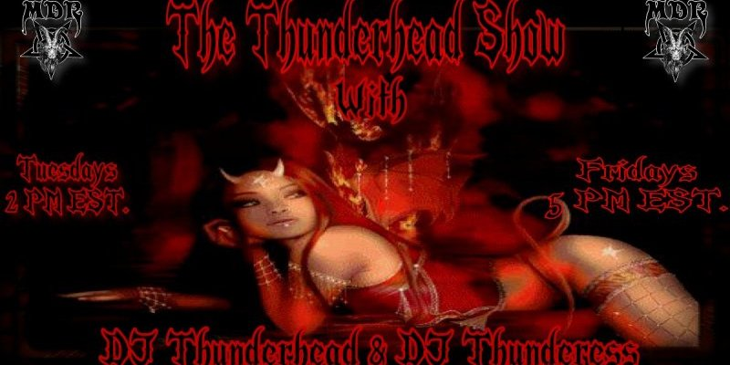 Thunderhead show double Shot Two For tuesday Rock show Today 2pm est