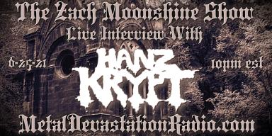 Hanz Krypt - Live Interview - The Zach Moonshine Show