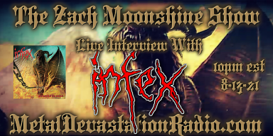 Infex - Live Interview - The Zach Moonshine Show