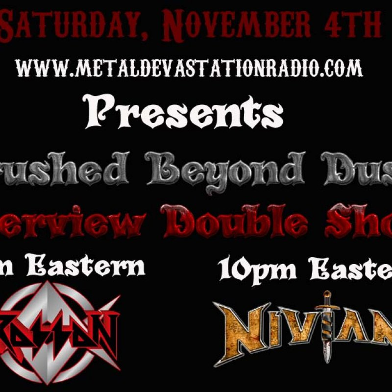 Crushed Beyond Dust Interview DOUBLE SHOT!!