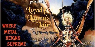 Lovely Laura's Lair On Metal Devastation Radio!