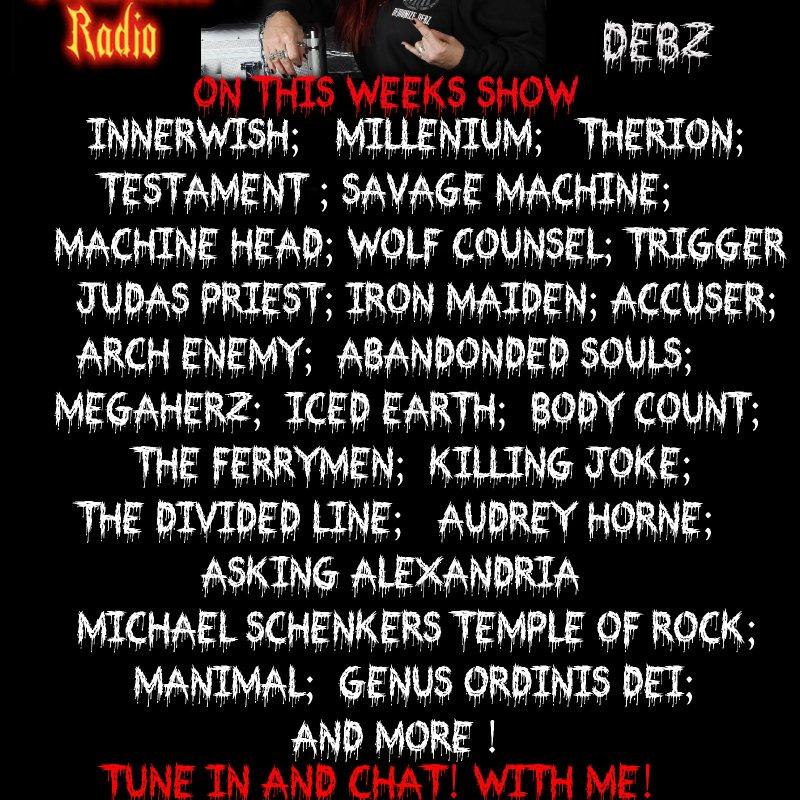 The Mistress's Pit with Demonize Debz on MetalDevastationRadio.com