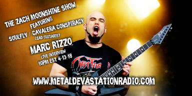 SOULFLY/CAVALERA CONSPIRACY Guitarist MARC RIZZO Live Interview With Zach Moonshine