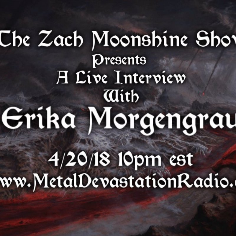 Erika Morgengrau Live Interview On The Zach Moonshine Show