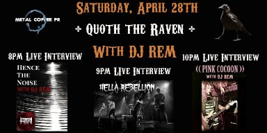 Quoth the Raven with DJ REM