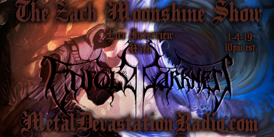 Enfold Darkness - Live Interview - The Zach Moonshine Show