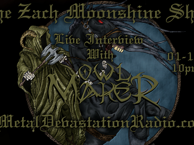 Owl Maker - Live Interview - The Zach Moonshine Show