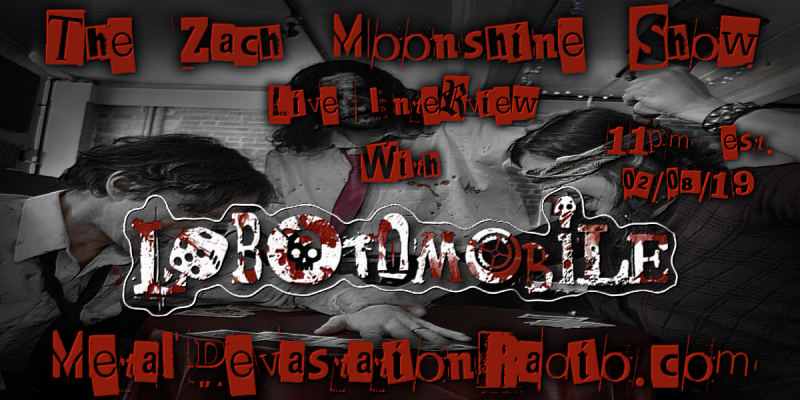 Lobotomobile - Live Interview - The Zach Moonshine Show
