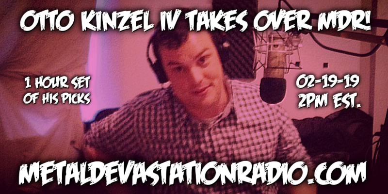 Otto Kinzel IV - Takes Over MDR - The Throwdown Show
